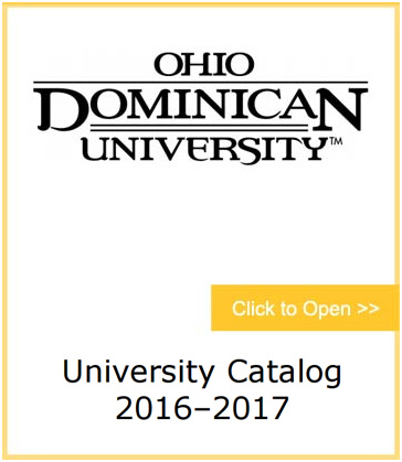 ODU University Catalog Click Here to Open PDF
