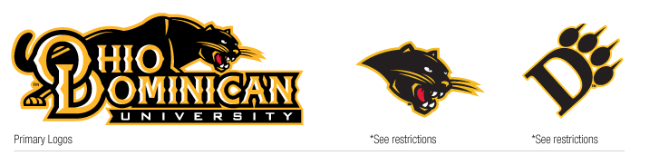 the ohio dominican university brand graphic standards and logo