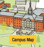 Old Dominion Campus Map.Map Of Ohio Dominican S Main Campus And Parking Locations Ohio
