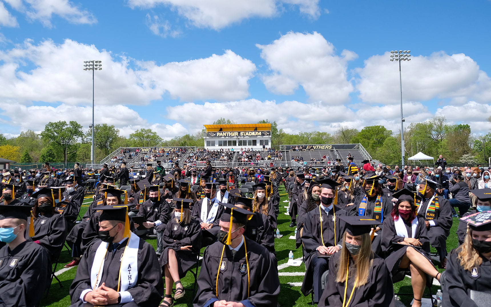ODU's 113th Commencement Ceremony in Panther Stadium
