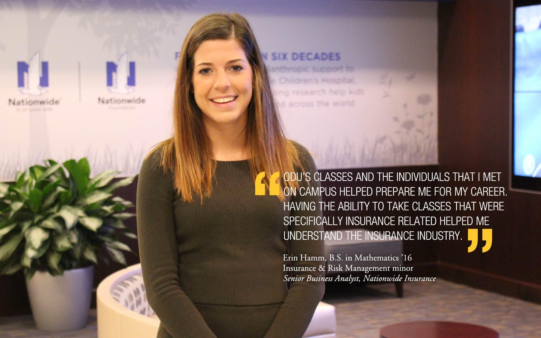 Erin Hamm Alumni Profile